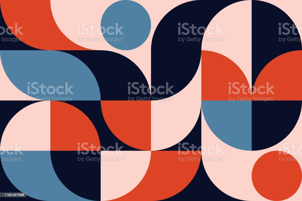 Abstract Geometry Pattern Artwork - Royalty-free Abstrato arte vetorial