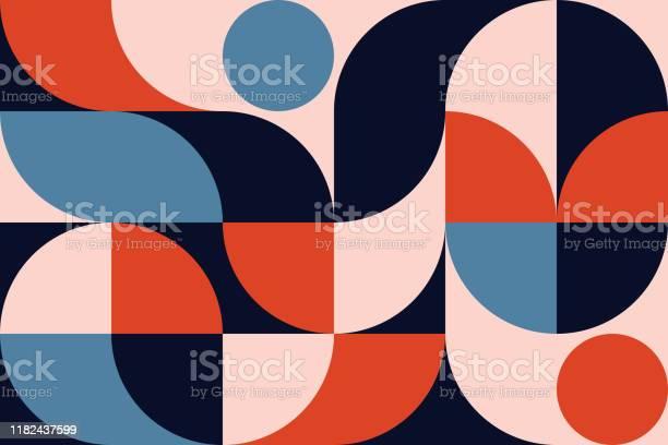 Abstract Geometry Pattern Artwork - Arte vetorial de stock e mais imagens de Abstrato