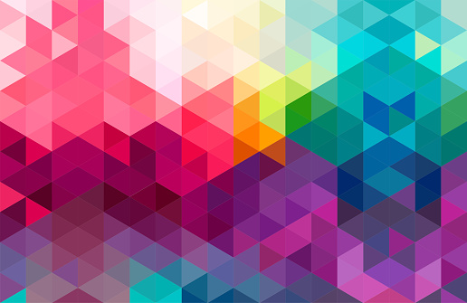 Abstract geometry  triangle  colorful.