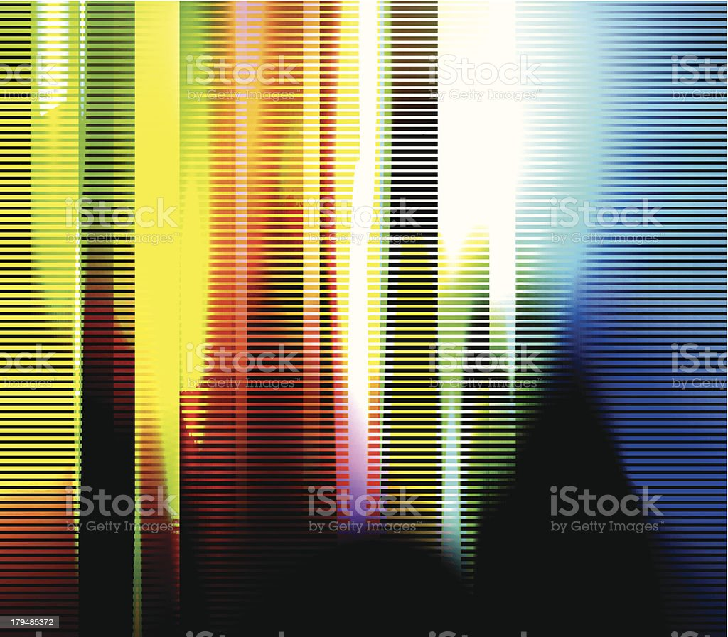 Abstract glitch background royalty-free stock vector art