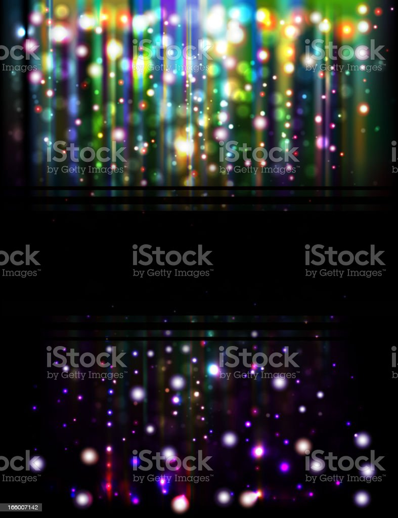 Abstract glowing background royalty-free stock vector art