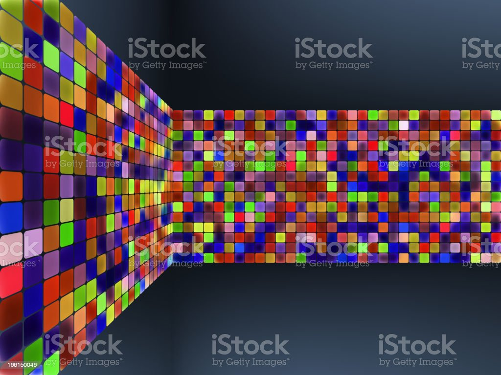 Abstract glowing illustration background. EPS 8 royalty-free stock vector art