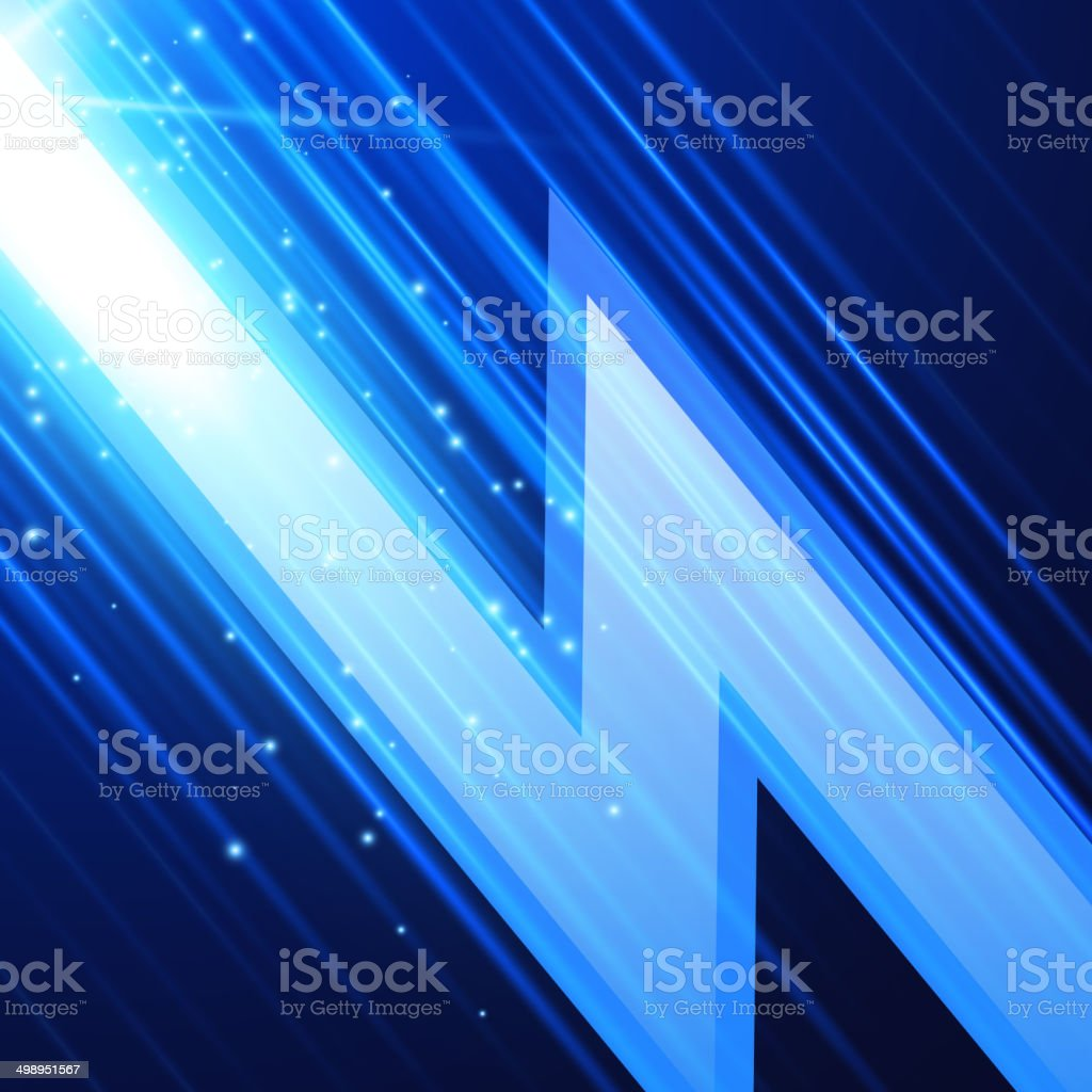 Abstract glowint background vector art illustration