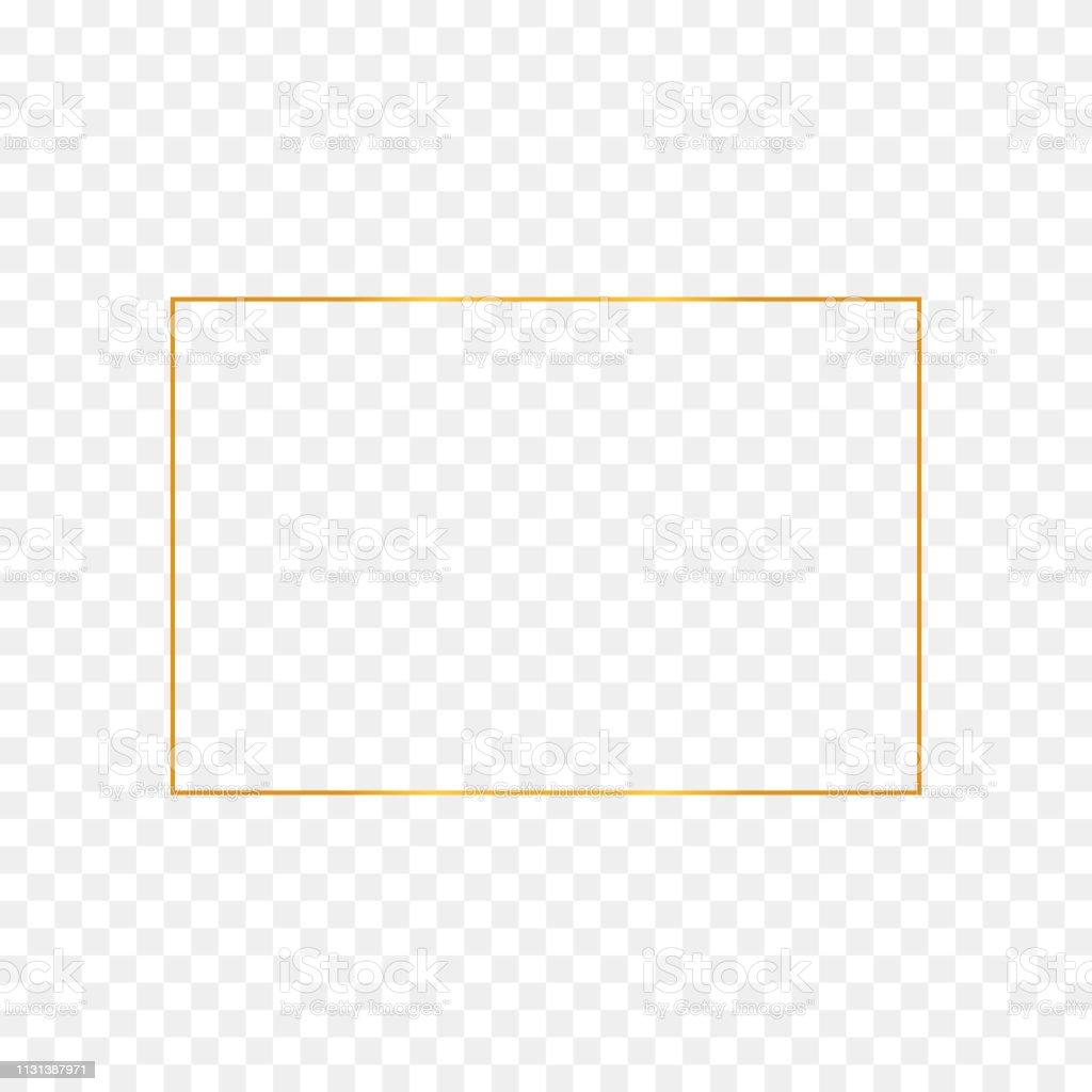Marco rectángulo oro abstracto ilustración de marco rectángulo oro abstracto y más vectores libres de derechos de abstracto libre de derechos