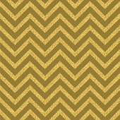 Abstract golden glitter geometric zigzag seamless pattern background.