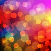 Abstract Golden Holiday Background bokeh effect. Vector EPS 10 illustration.