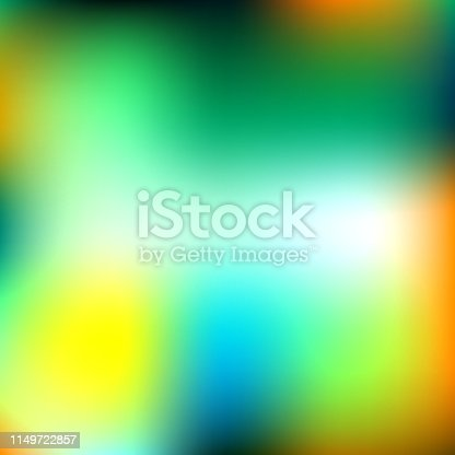Abstract gradation green and orange
