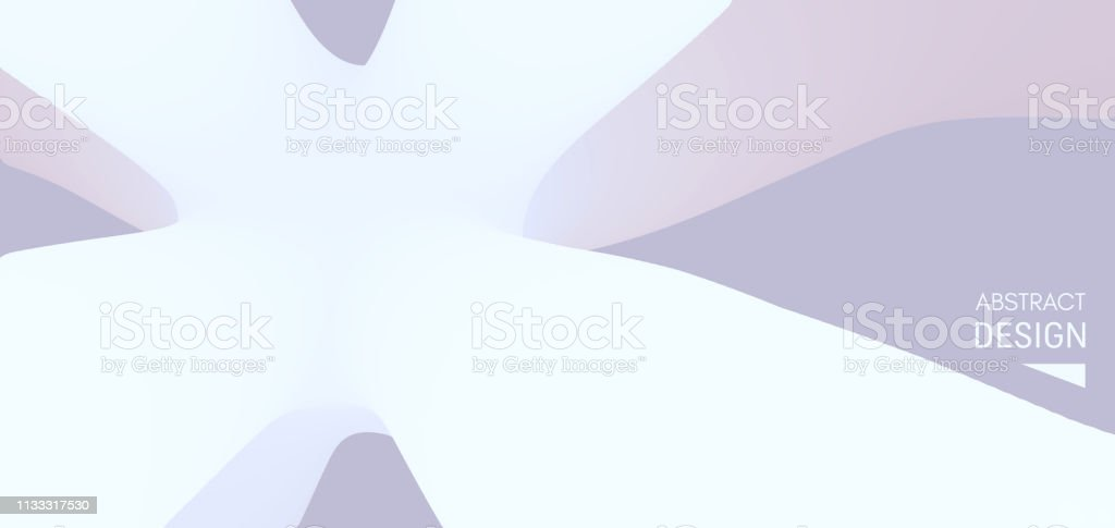 Abstract Gradient Background Cover Design Template 3d Vector