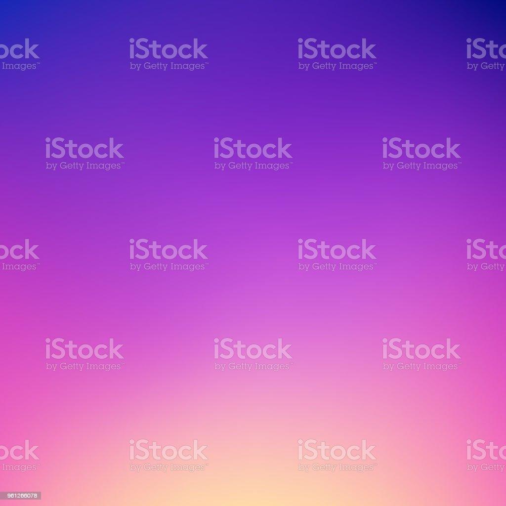 Abstract gradient background: Dreamy dusk colors - Grafika wektorowa royalty-free (Abstrakcja)