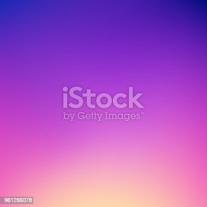 Abstract gradient background: Dreamy dusk colors