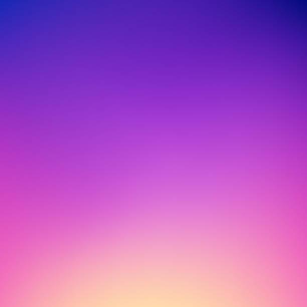 abstrakcyjne tło gradientu: marzycielski zmierzch kolorów - zachód słońca stock illustrations
