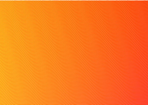 abstract gradient background - orange color stock illustrations