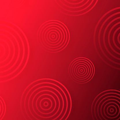 Abstract gradient background with Red circles