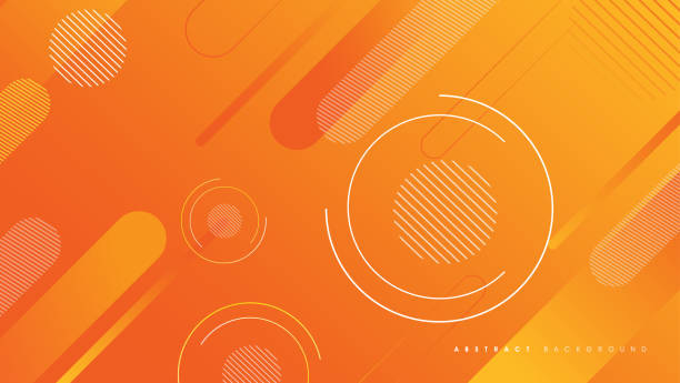 Abstract Gradient Geometric Shape Background vector art illustration