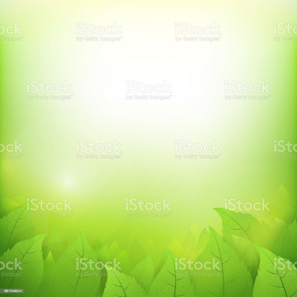 Abstract Gradient Green Background With Transparency Leaf For Ecology Concepts 002 Stock Vektor Art Und Mehr Bilder Von Abstrakt