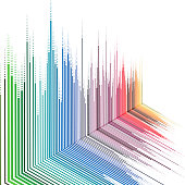 abstract gradient stripe pattern background