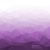 Abstract Gradient Violet Geometric Background.