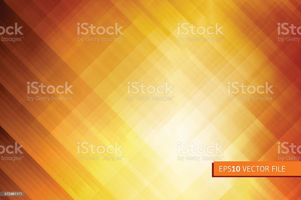 Abstract gradually changing bronze color background vector art illustration