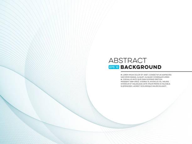 Abstract Wave Hintergrund mit – Vektorgrafik
