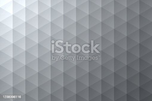 istock Abstract gray background - Geometric texture 1238396116
