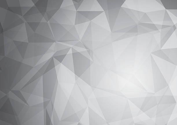 Abstrakt Grau Low-Poly – Vektorgrafik