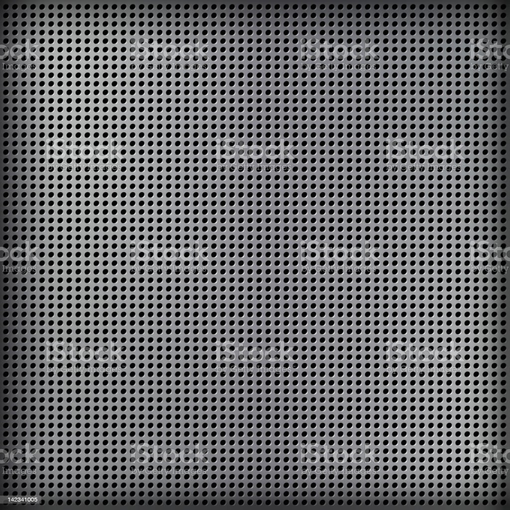 Abstract gray mesh background over black vector art illustration