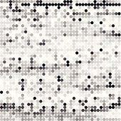 abstract gray polka dots pattern background for design