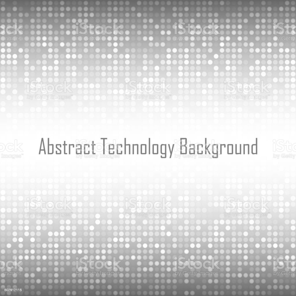 Abstract Gray Technology Background vector art illustration