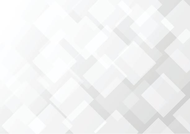 illustrazioni stock, clip art, cartoni animati e icone di tendenza di abstract gray transparent square background - rombo