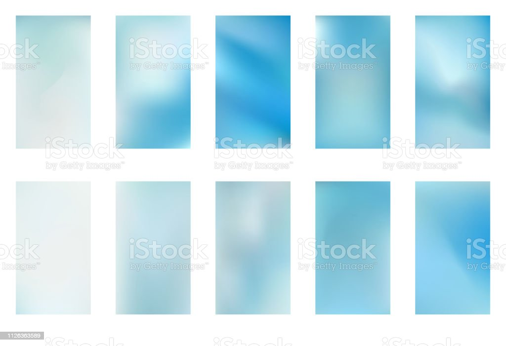Abstract green and blue blurred gradient background with light. Nature backdrop. Vector illustration. Ecology concept for your graphic design, banner or poster vector art illustration