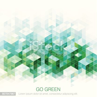 istock Abstract Green backgrounds. 507547567