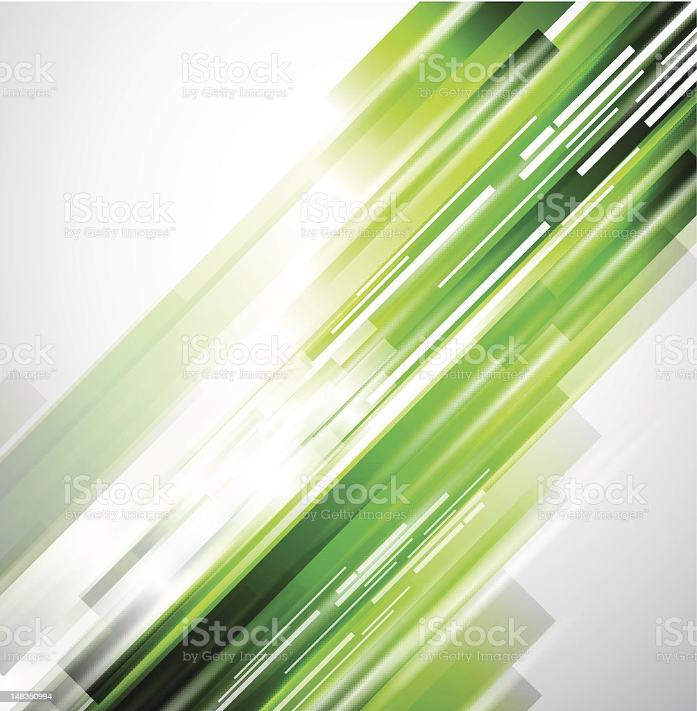 Abstract green bars in motion on white background royalty-free abstract green bars in motion on white background stock vector art & more images of backgrounds