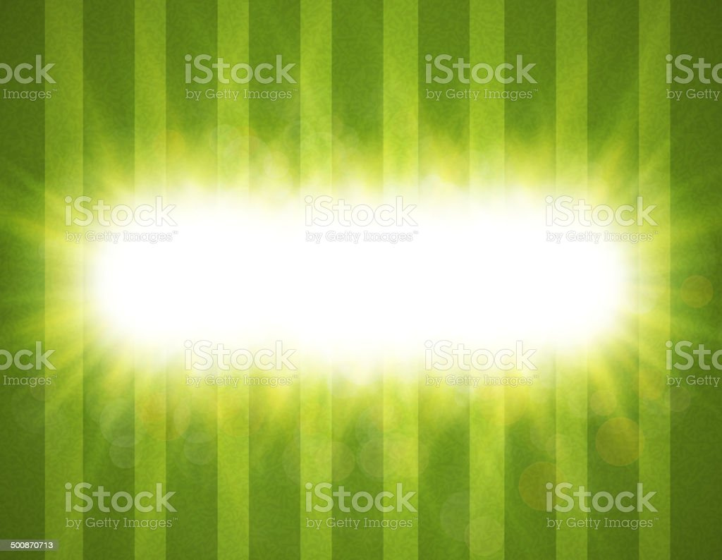 Abstract green blurry background royalty-free stock vector art