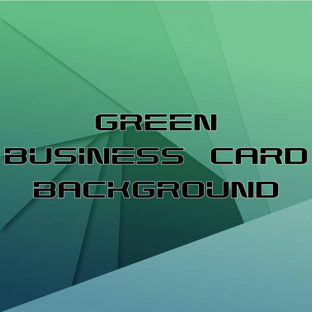 Royalty Free Clip Art Of Futuristic Business Cards Clip Art Vector