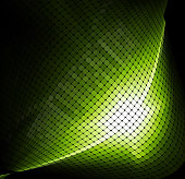 abstract green check pattern technology background for design