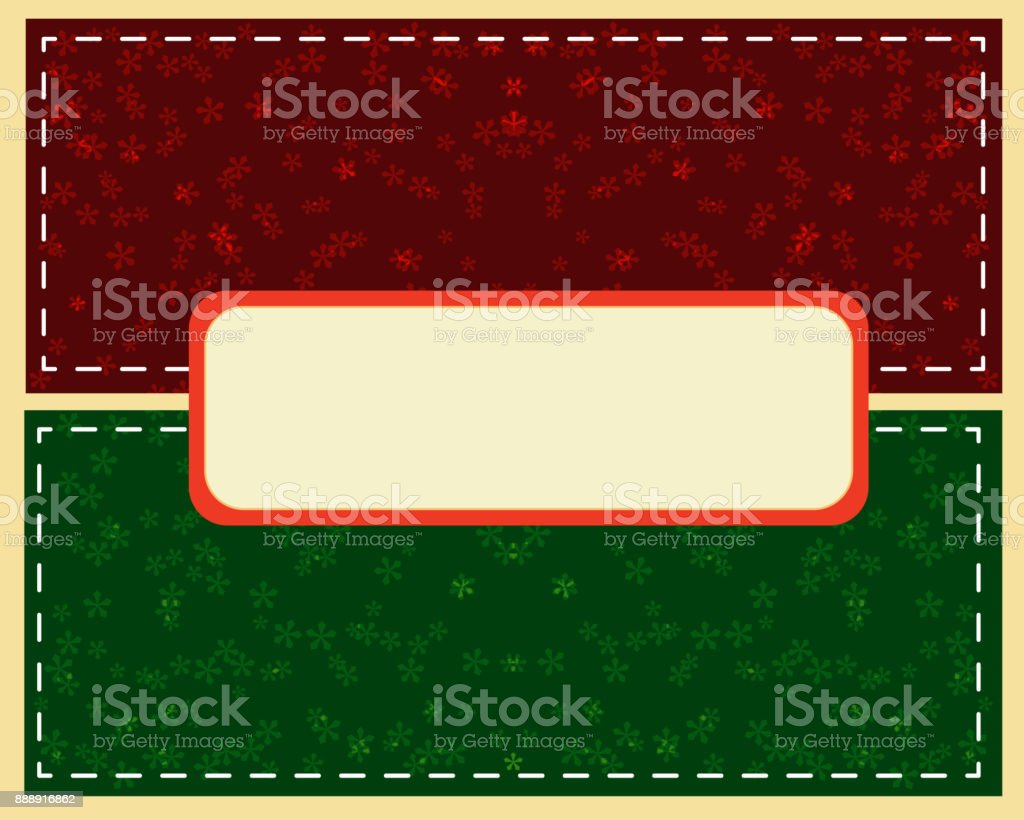 Abstract green Christmas ball cutted from paper on  background. Vector vector art illustration