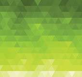 Vector illustration green geometric Abstract background. EPS10.