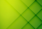 Abstract green geometric vector background, can be used for cover design, poster, advertising