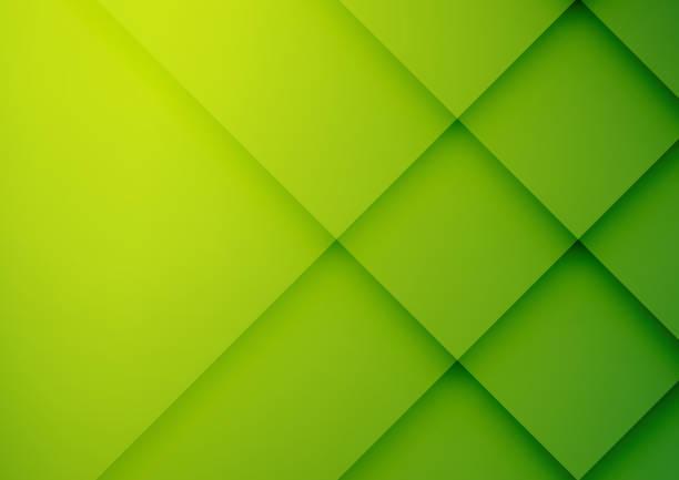 abstrakte grüne geometrische vektor hintergrund, kann für cover-design, plakat, werbung verwendet werden - grün stock-grafiken, -clipart, -cartoons und -symbole