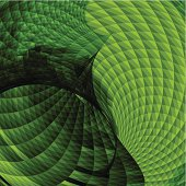 abstract green geometry shape background for design.(ai eps10 with transparency effect)