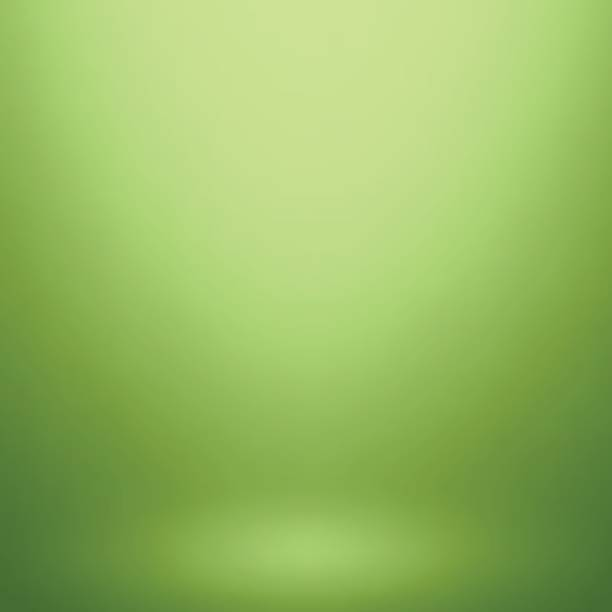 Abstract green gradient. Used as background for product display vector art illustration