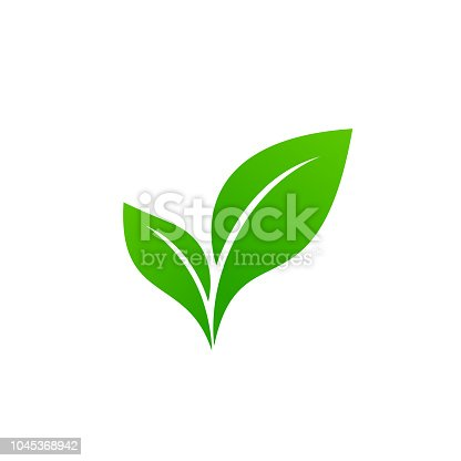 Landscape design, garden, Plant, nature and ecology vector logo. Ecology Happy life Logotype concept icon.