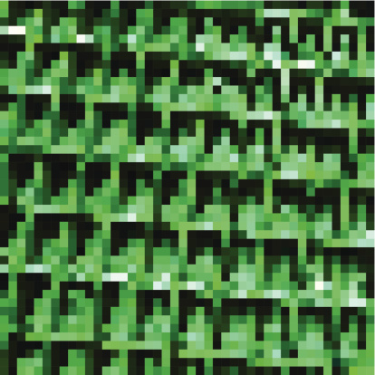 abstract green mosaic check pattern background