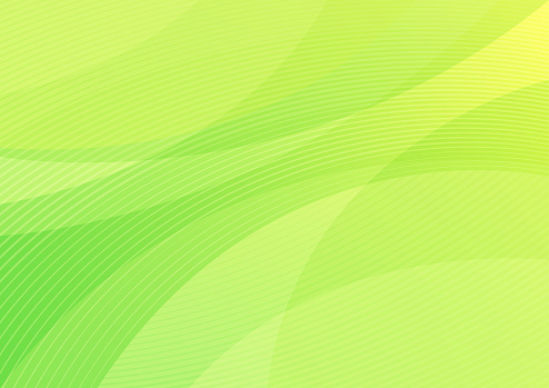Modern bright green abstract shapes vector background