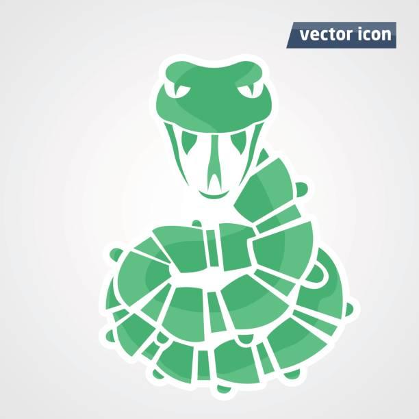 Best Snake Head Illustrations, Royalty-Free Vector ...