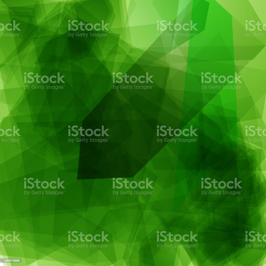 abstract green technology background royalty-free stock vector art