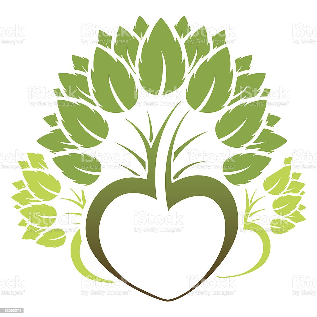 Abstract Green Tree Icon Logo Stock Vector Art & More Images of ...