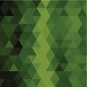 abstract green triangle pattern background for design.(ai eps10 with transparency effect)
