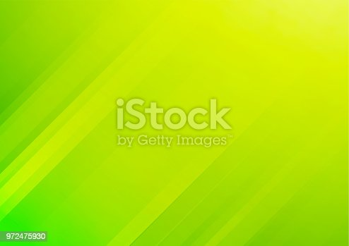 Abstract green vector background with stripes