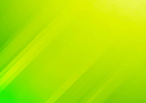 Abstract green vector background with stripes vector art illustration